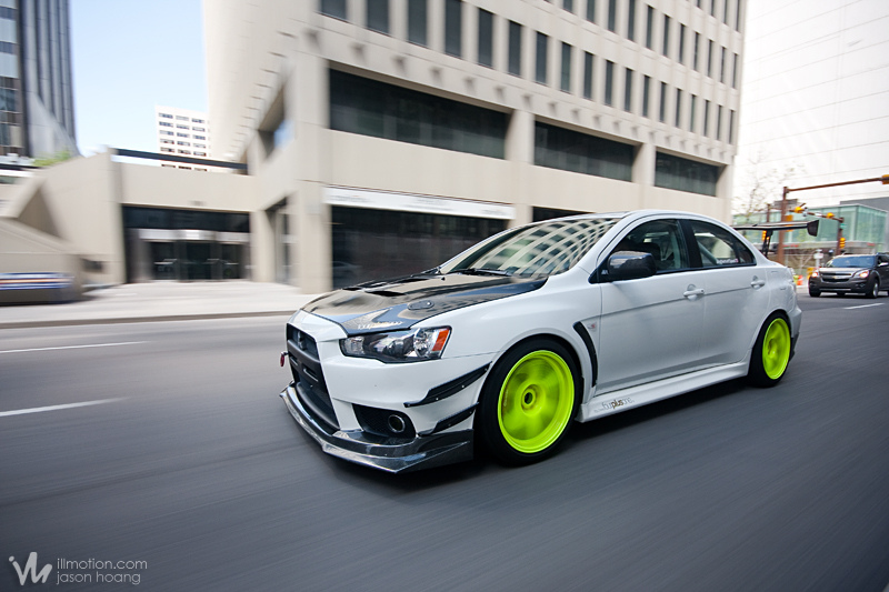 Im Feature Dicken S Mitsubishi Lancer Evolution X Ill Motion
